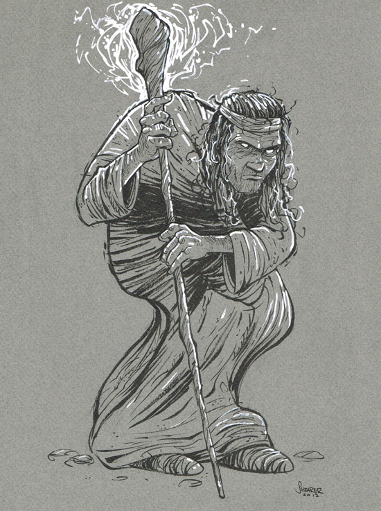 Daily Sketch: Magic Beggar Character design