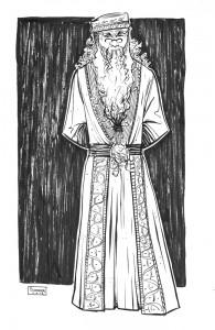 Daily sketch: Albus Dumbledore