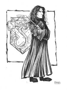 Daily Sketch: Severus Snape
